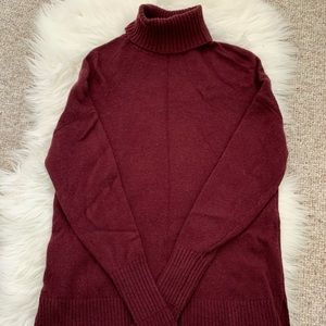 J. Crew high-low turtleneck sweater